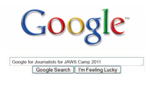 Google for journalists JAWS camp